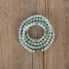 amazonite mala bracelet