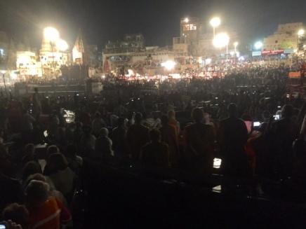 Varanasi night boat 2