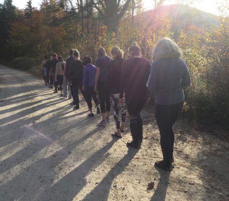 Wk #3 walking meditation