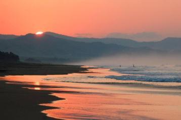 PV BEACH sunset