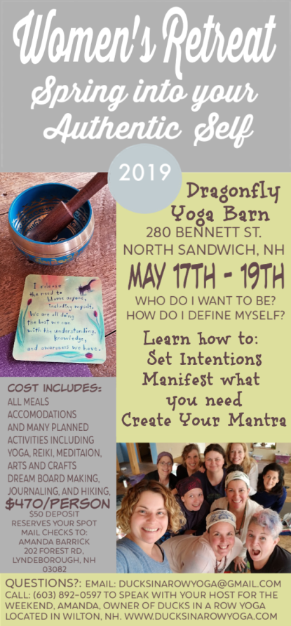Women's Spring Dragonfly Retreat